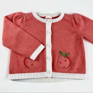 Gymboree baby girl cardigan sweater